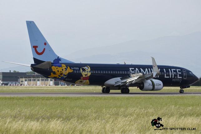 G-FDZG B737-8K5 35139/2538 Thomson Airways @ Aeroporto di Verona - 11/06/2016 © Piti Spotter Club Verona