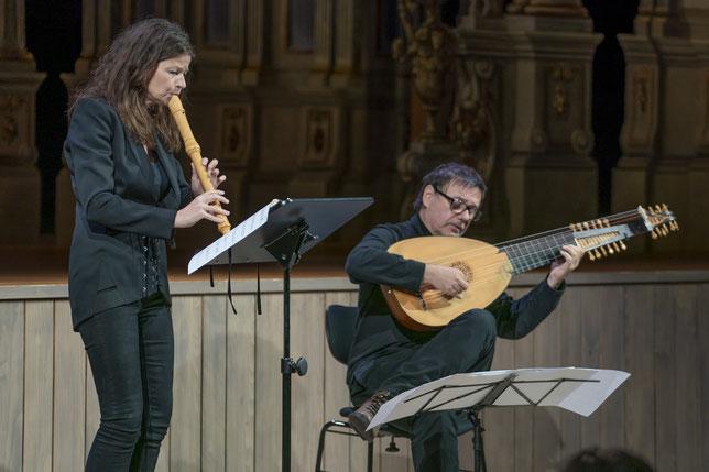 Musica Bayreuth: Konzert im Markgräflichen Opernhaus mit Dorothee Oberlinger und Edin Karamazov