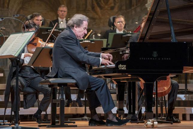 Musica Bayreuth Rudplf Buchbinder und die Bamberger Symphoniker im Markgräflichen Opernhaus Bayreuth Fotos Andreas Harbach