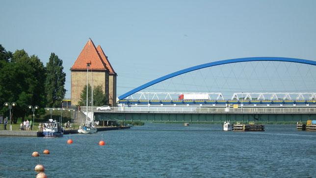 Öffnungszeit Brücke Wolin
