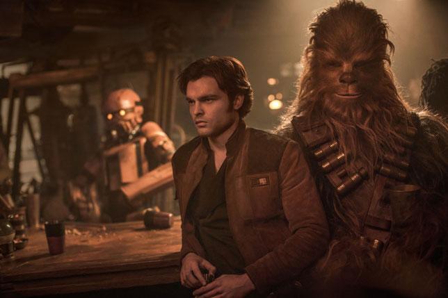 C'est dans ce film qu'Han Solo rencontre Chewbacca (©The Walt Disney Company/LucasFilm).