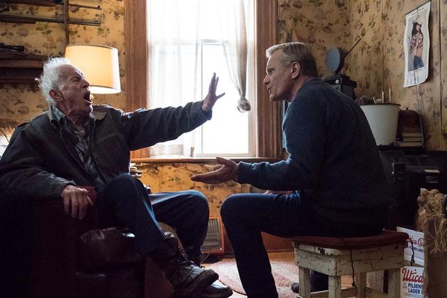 John (Viggo Mortensen, à droite) essaye d'aider son père Willis (Lance Henriksen) à vieillir, mais ce n'est pas facile (©Brendan Adam-Zwelling/Metropolitan Films).