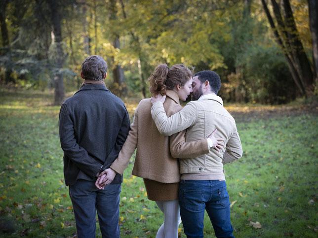 L'amour, c'est compliqué: on peut aimer deux personnes à la fois (©Xavier Lambours/Moby Dick Films/Pyramide Distribution).