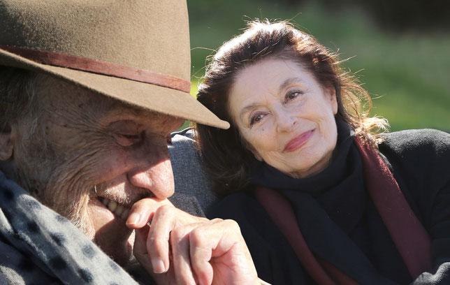 Jean-Louis Trintignant, Anouk Aimée: un homme et une femme, 53 ans après (©Metropolitan Films).