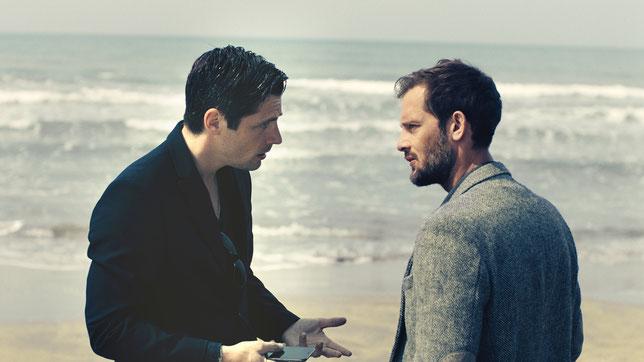 Raphaël Personnaz (à gauche) et Nicolas Duvauchelle: deux amis liés par un lourd secret (©Mars Distribution).