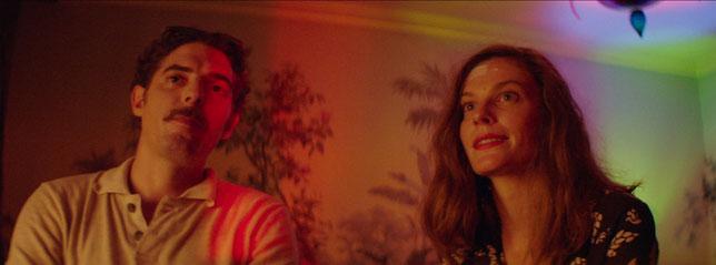Damien Bonnard et Lindsay Burdge, les deux acteurs principaux du film (©Samuel Goldwyn Films/Stray Dogs Distribution).