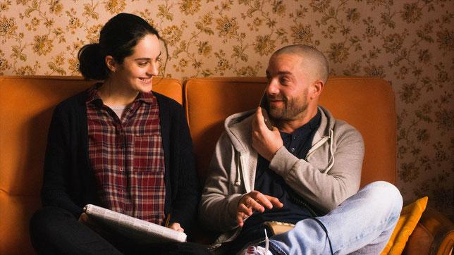 Noémie Merlant et Guillaume Gouix, soeur et frère dans le film (©Sensito Films/Rezo Films).