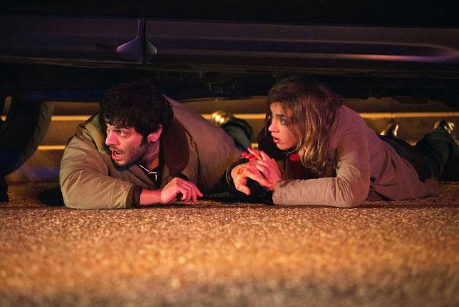 Pio Marmaï entraîne Adèle Haenel dans de folles aventures (©Memento Films).