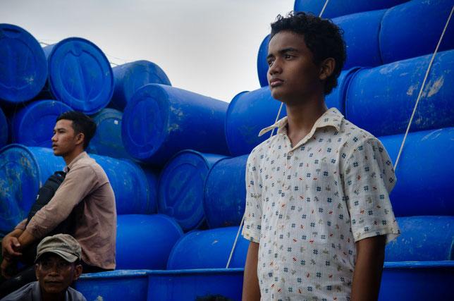 Le jeune acteur cambodgien Sarm Heng interprète le rôle principal du film (©Apollo Films).