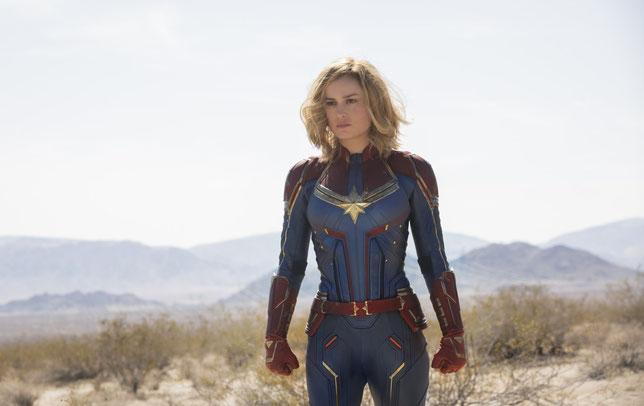 """Brie Larson est Vers, alias Carole Danvers, alias Captain Marvel, et le sera encore dans """"Avengers Endgame"""" (©Marvel Studios)."""