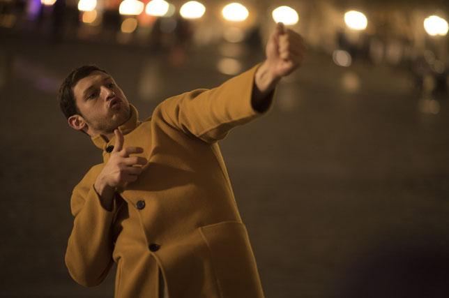 L'acteur Tom Mercier fait ses débuts à l'écran (©Guy Ferrandis/SBS Films).