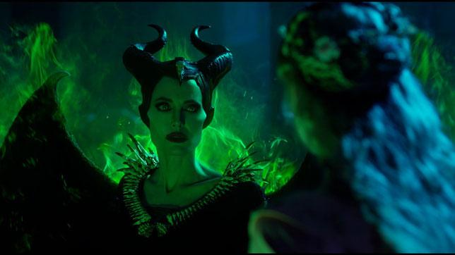 Angelina Jolie est Maléfique, fée-sorcière pas si méchante que ça (©The Walt Disney Company).