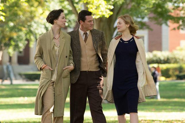 Heureux homme: William Marston (Luke Evans), entouré de sa femme Elizabeth (Rebecca Hall, à gauche) et de leur maîtresse Olive (Bella Heathcote) (©Sony Pictures/LFR Films).