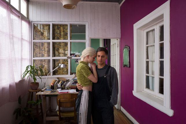 Ema (Mariana Di Girolamo) et Gaston (Gael García Bernal) forment un couple mouvementé (©Potemkine Films).