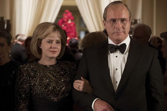 Amy Adams et Christian Bale interprètent Lynn et Dick Cheney (©Mars Films).
