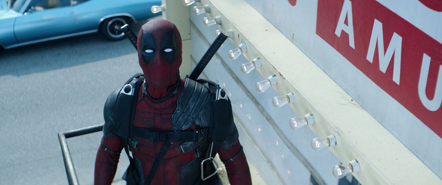 Sous le masque de Deadpool se cache à nouveau Ryan Reynolds (©20th Century Fox/Marvel).