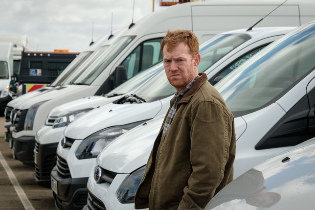 Ricky ne pensait pas que le métier de chauffeur-livreur était si difficile (©Le Pacte).