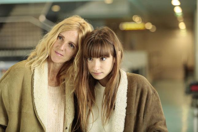 Sandrine Kiberlain et Thaïs Alessandrin, relation fusionnelle entre la mère et la fille (©David Koskas/Pathé Films).