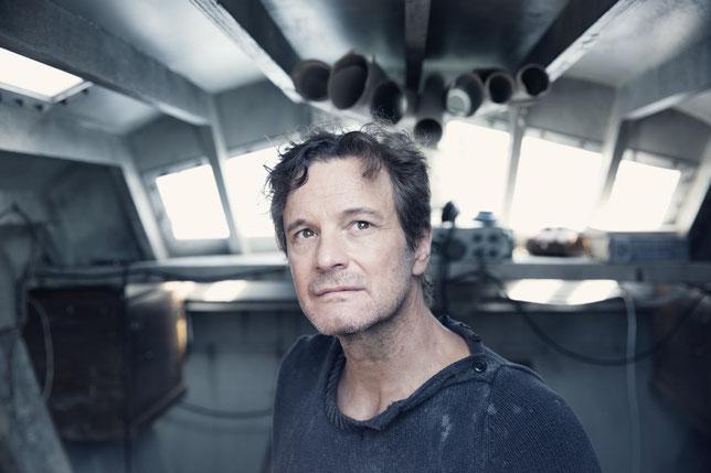 Colin Firth interprète le marin amateur Donald Crowhurst dans ce film tiré d'une histoire vraie (©StudioCanal).