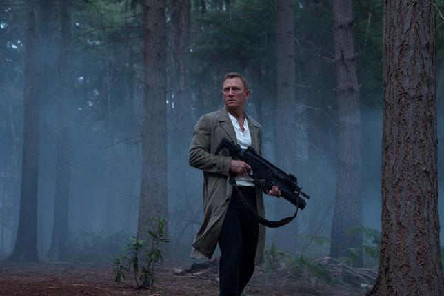 C'est la 5e et dernière apparition de Daniel Craig dans le rôle de l'agent James Bond 007 (©Danjaq/LLC/MGM).