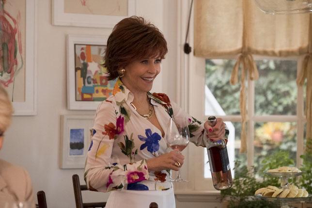 Jane Fonda et ses amies du troisième âge veulent continuer à prendre du bon temps (©Paramount Pictures).