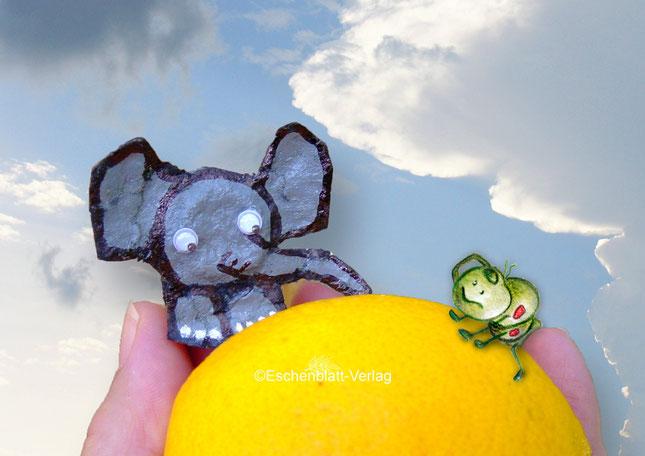 Der kleine Elefant und die Raupe