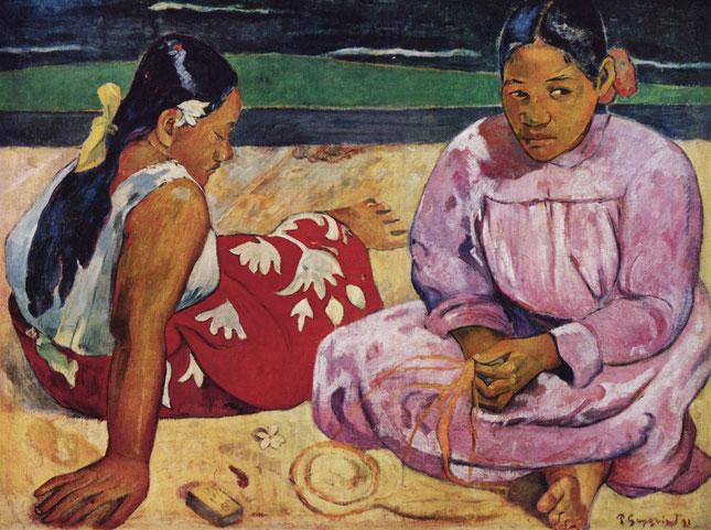 ポール・ゴーギャン「タヒチの女」(1891年)