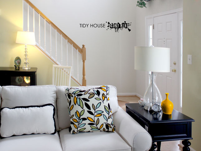 Tidy House Scary Mind wall art sticker from wallartcompany.co.uk