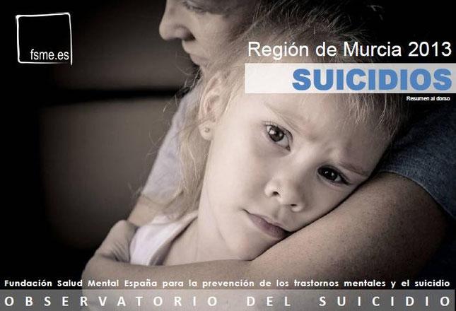 R. de Murcia. Suicidios. 2013