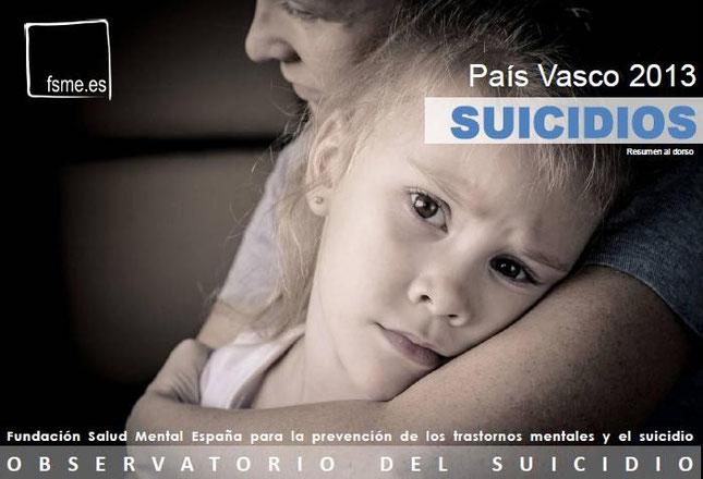 País Vasco. Suicidios. 2013
