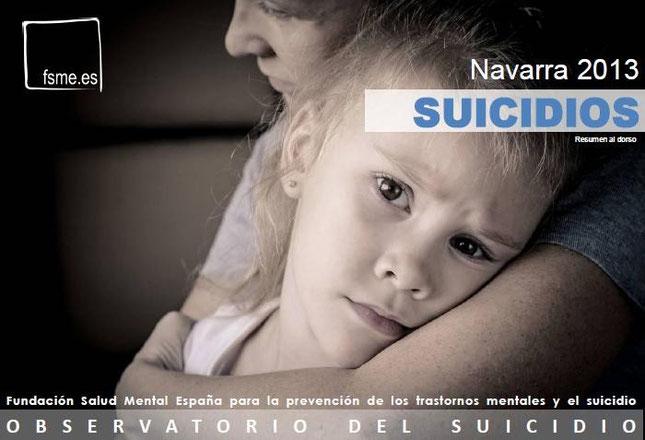 Navarra. Suicidios. 2013
