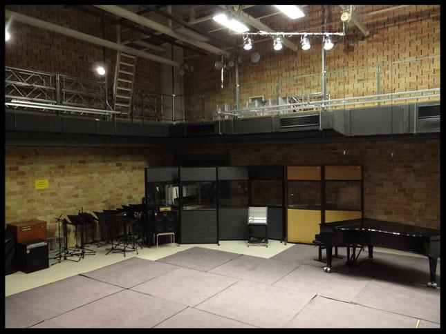 externer Studio-Saal