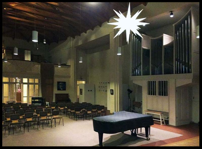 externe Studio-Kirche
