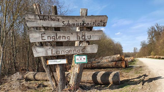 In ca. 4 km werde ich im Lonetal sein...