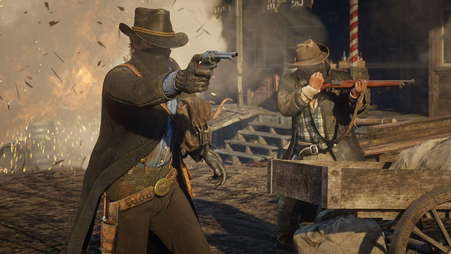 Beste Shooter Spiele: Red Dead Redemption 2