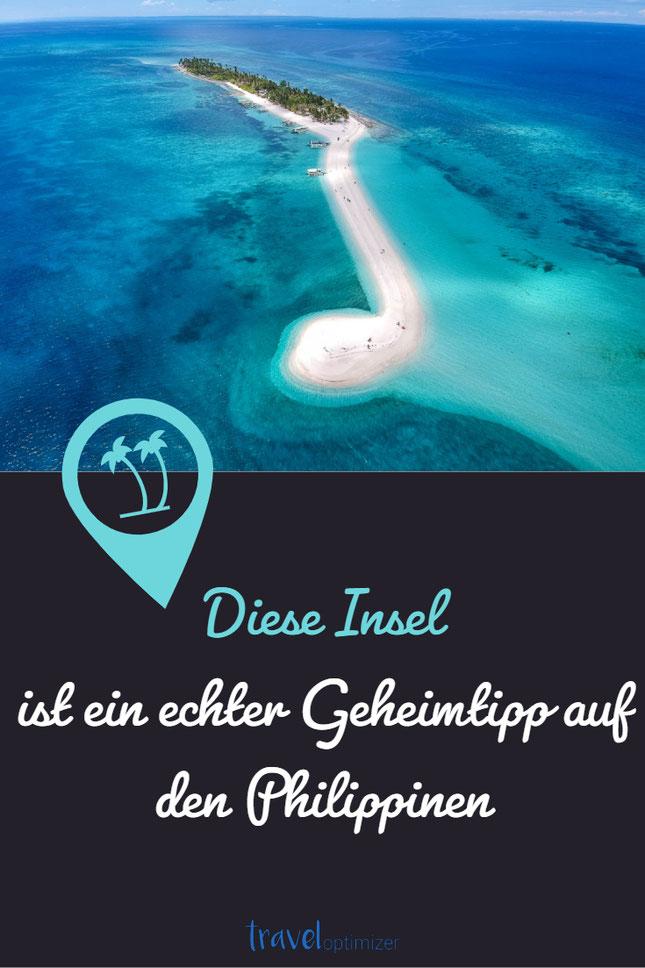Insel ohne Massentourismus auf den Philippinen, unentdeckte Insel Philippinen Malapascua Island als Taucherparadies