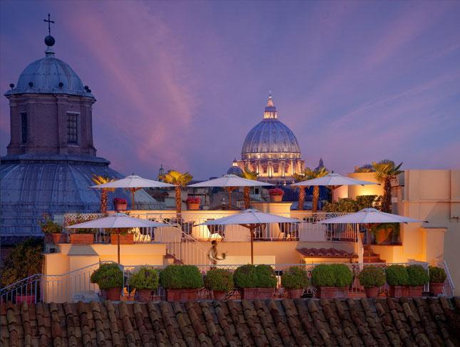 Hotel Raphael- Rom/ VeggieHotels
