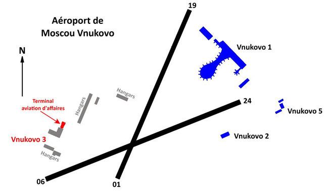 Aéroport de Moscou Vnukovo