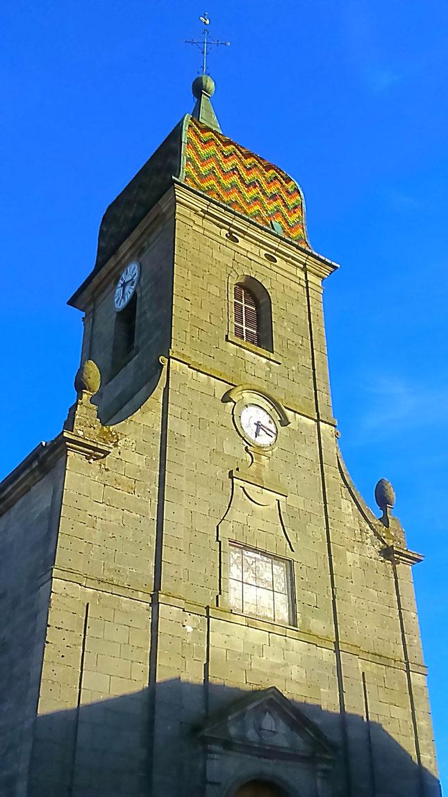 Eglise Saint-Gengoult - 1776 - Harsault (c) Municipalité de LVLB