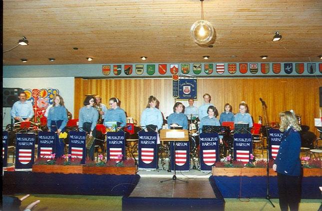Jugendgruppe 1995, unter der Leitung von Nicole Buerschaper (heute Heineke)