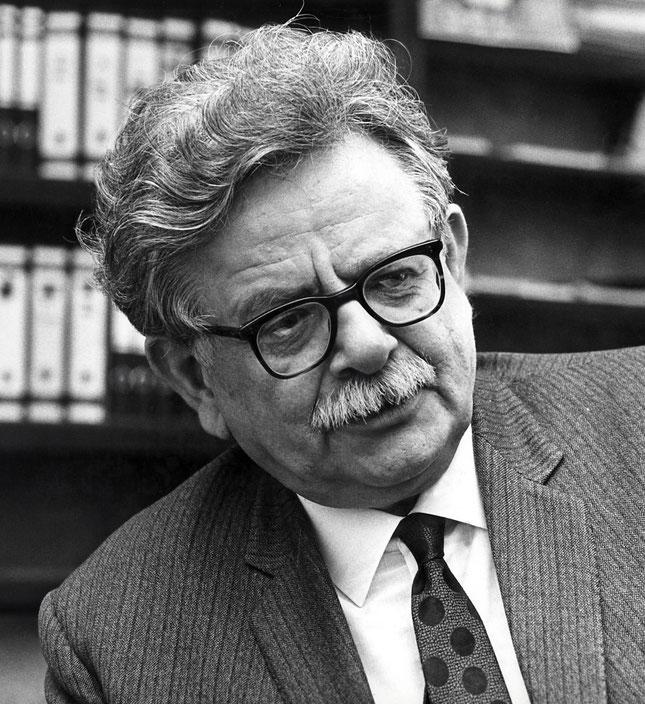 Il premio Nobel Elias Canetti