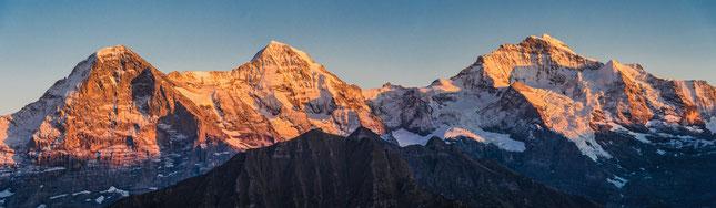 Eiger, Mönch und Junfrau, Interlaken, Seminar, Carmen Weder, Marion Stöckle, ©Carmen Weder - Art of Moment