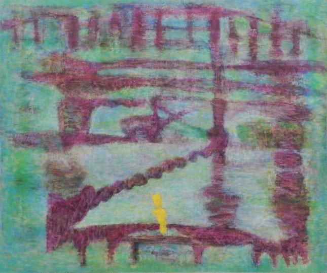 「砦」   キャンバスに油彩    162×194㎝(F130号)