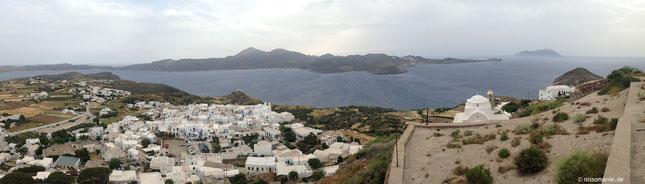 Panoramablick auf Binnenmeer