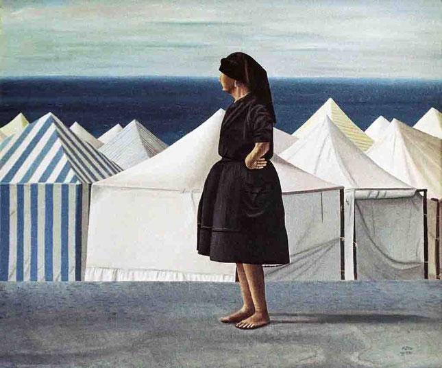 Nazaret 1993, óleo sobre lienzo 60X73 cm