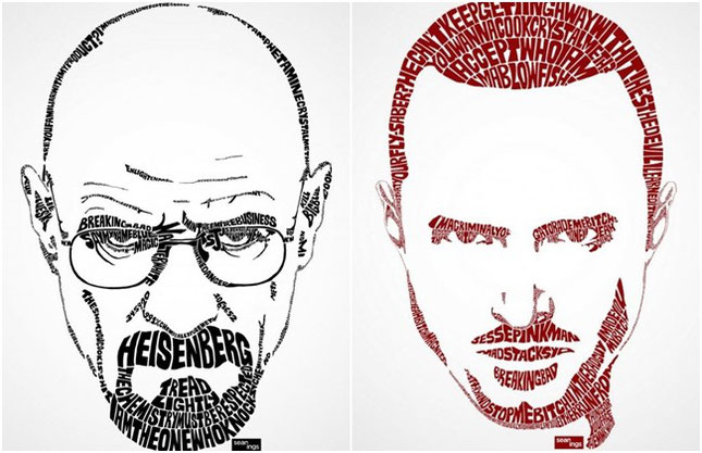 "Mr. White (Bryan Cranston) y Jesse Pinkman (Aaron Paul) - ""Breaking Bad"""