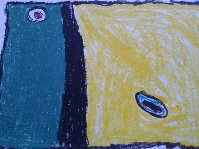 Arte contemporáneo. Ceras. 6 años