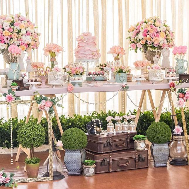 15 a os decoraci n vintage decoracion para fiestas for 15 anos vintage decoracion