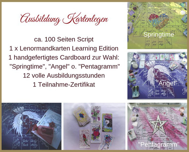 Ausbildung Kartenlegen Dagmar Densdorf