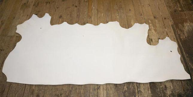 Pergament-Hälfte Leder